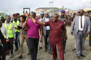 Wike Mocks 5 APC Governors And Amaechi At Campaign