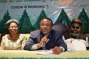 COSON MEMBERS SHARE 200 MILLION NAIRA