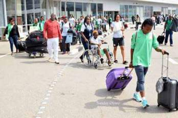 SUPER FALCONS SEIZE 2016 AWCON TROPHY, DEMAND N238M DEBT FROM NFF