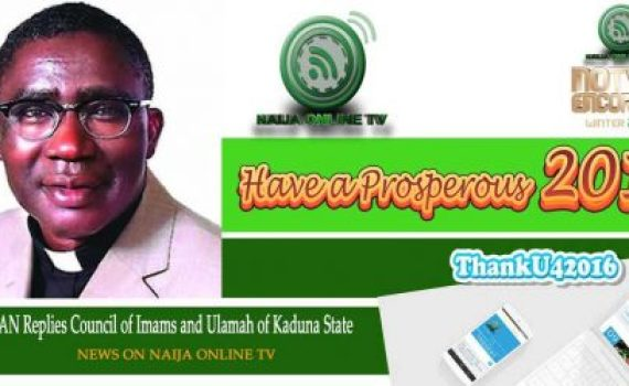 CAN Replies Council of Imams and Ulamah of Kaduna State
