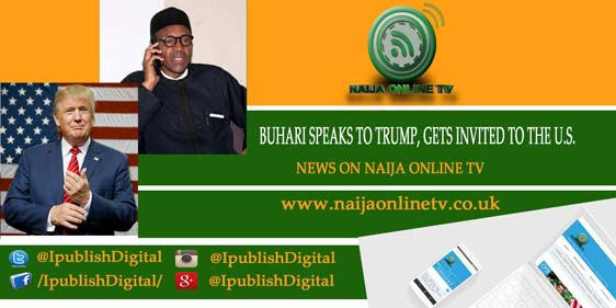BUHARI SPEAKS TO TRUMP