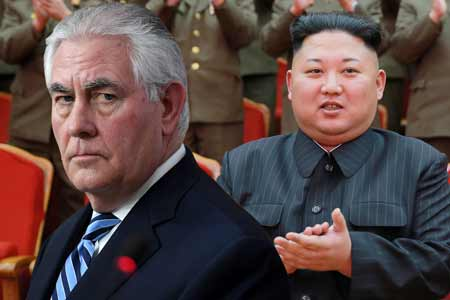 US Secretary Of State, Rex Tillerson Suggests Military Action Against North Korea
