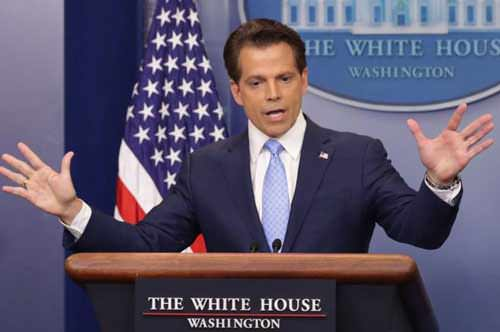 Anthony Scaramucci fired as Trump's media chief, just 10 days in office