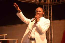 Abuja Trembles, As Apostle Suleman Frees 3 Year-Old Who Never Walked