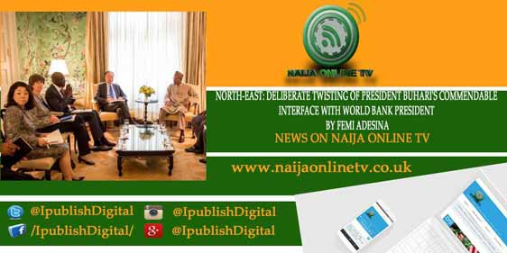 NORTH-EAST: DELIBERATE TWISTING OF PRESIDENT BUHARI'S COMMENDABLE INTERFACE