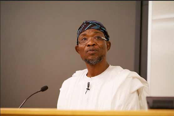 Aregbesola condoles with Tinubu, on the loss of son