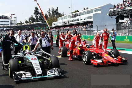 Mercedes and Ferrari supercharge F1 Launch week with 2018 car reveals today