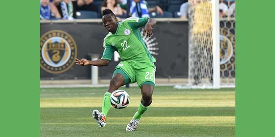 Super Eagles defence will tame Lewandowski — Kenneth Omeruo