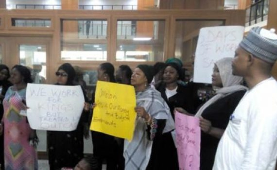 Aides to NASS Members protest N5bn unpaid allowances