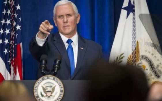 US Vice President compares Trump to Martin Luther King