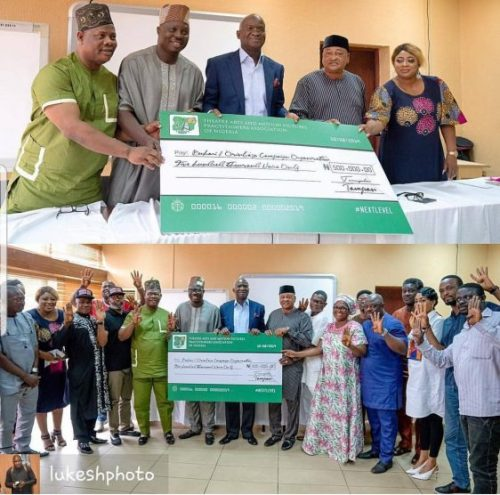 Top Actor, Yomi Fashlanso, Speaks On TAMPAN'S #500,000 Donation, To Buhari's Campaign Team