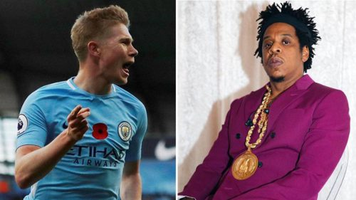 Hiphop Mogul JayZ signs Man City Kevin De Bruyne to Roc Nation Sports