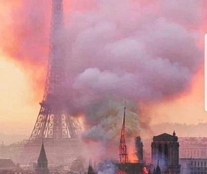Buhari Condoles With France, Christendom Over Notre Dame Fire