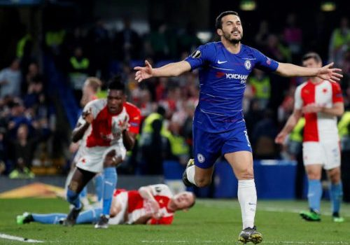Result: Chelsea reach Europa League semi-finals after thriller with Slavia Prague