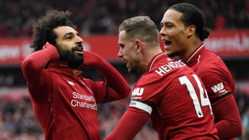 Salah: Four wins will give Liverpool the Premier League title