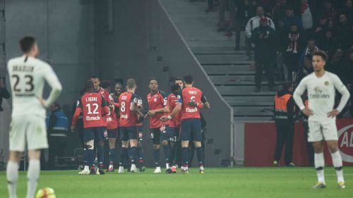 Paris Saint-Germain humiliated by Lille as title celebrations scuppered