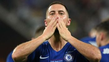 'I think it is goodbye' - Hazard bids farewell to Chelsea after Europa League win