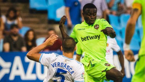 Levante forward Moses Simon ready to play wing-back role for Nigeria at the Afcon
