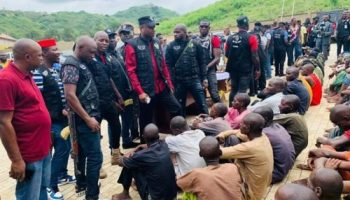 Police IRT, STS Parades 81 Deadly Kidnappers, Armed Robbers
