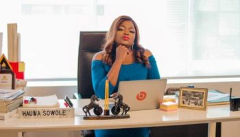 Funke Akindele to start 2020 with Chinaza Onuzo's directorial debut, 'Who's the boss'