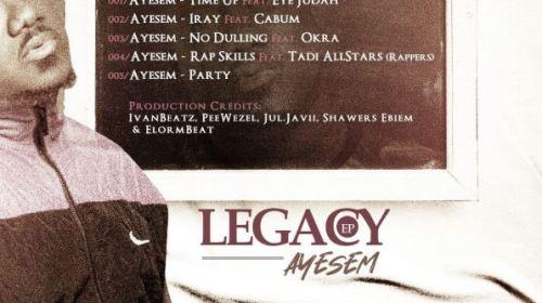 DOWNLOAD MP3: Ayesem – Iray Ft. Cabum (Prod. by Peewezel)