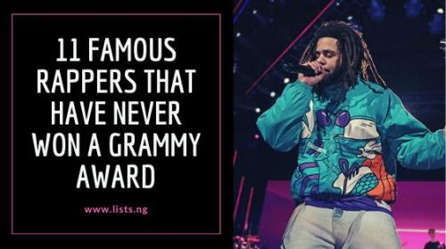 11 Famous Rappers that Have Never Won a Grammy Award