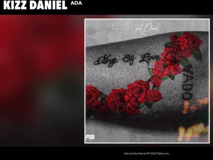 DOWNLOAD MP3: Kizz Daniel – Ada