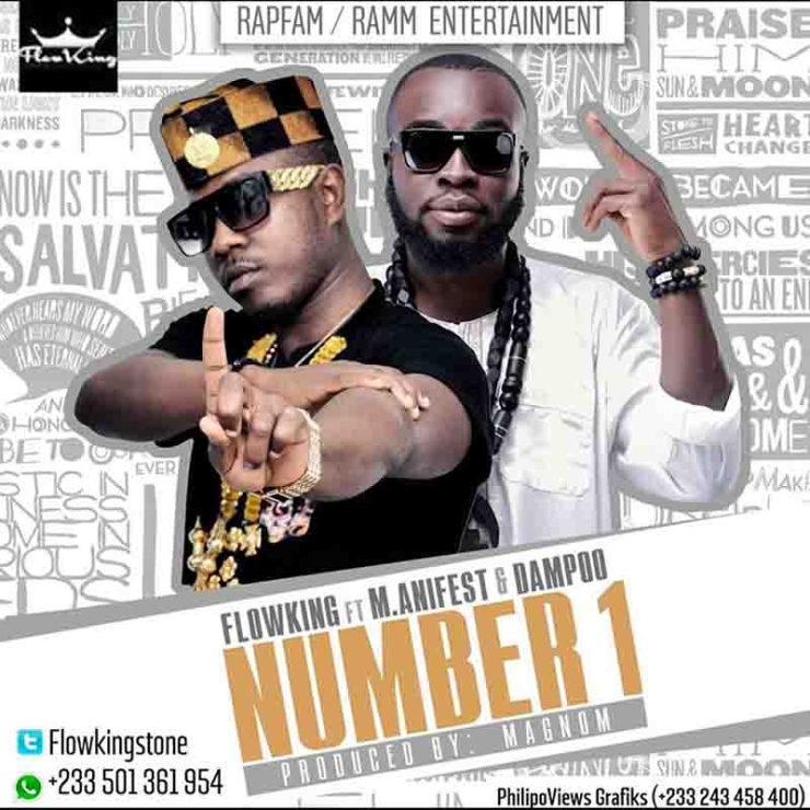 DOWNLOAD MP3: Flowking Stone ft M.anifest & Dampoo - Number 1