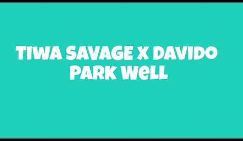 DOWNLOAD MP3: Tiwa Savage ft. Davido – Park Well