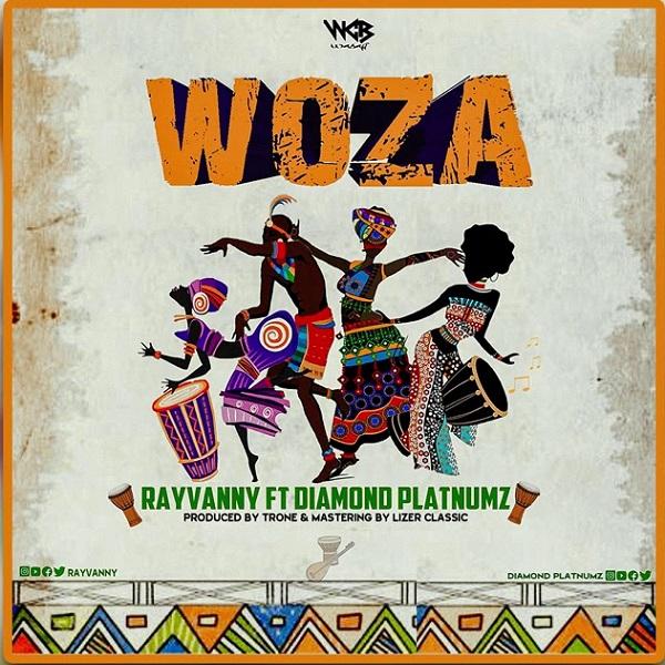 DOWNLOAD MP3: Rayvanny Ft. Diamond Platnumz – Woza