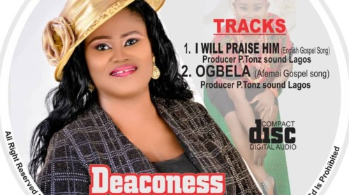 DOWNLOAD MP3: Deaconess Ade Agatha – I Will Praise Him