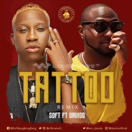 DOWNLOAD MP3: Soft ft. Davido – Tattoo