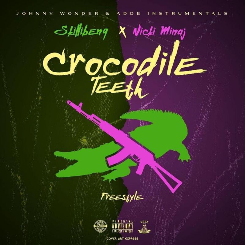 DOWNLOAD MP3: Skillibeng – Crocodile Teeth (Remix) ft Nicki Minaj