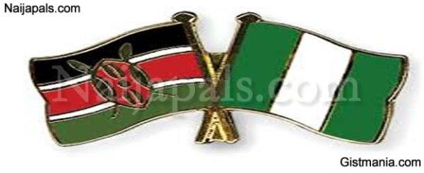 Image result for kenya and nigerian flag