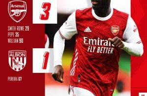 Arsenal vs West Brom 3-1– Highlights [DOWNLOAD VIDEO]