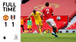 Manchester United vs Fulham 1-1 ~ Highlights [DOWNLOAD VIDEO]