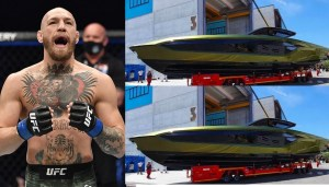 See the £2.6m Lamborghini Yacht UFC Star, Conor McGregor Bought After Dustin Poirier Defeat (Photo)
