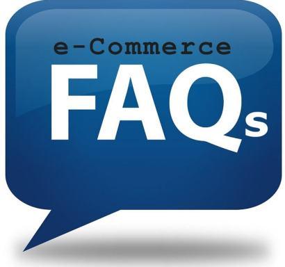 e-Commerce faqs