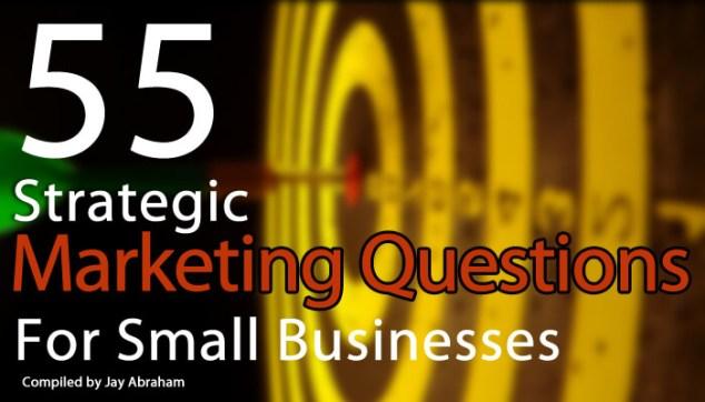 55-strategic-marketing-questions