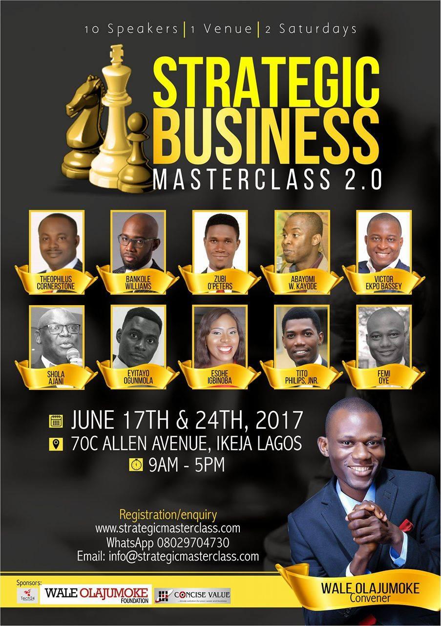 Strategic Business Masterclass 2.0