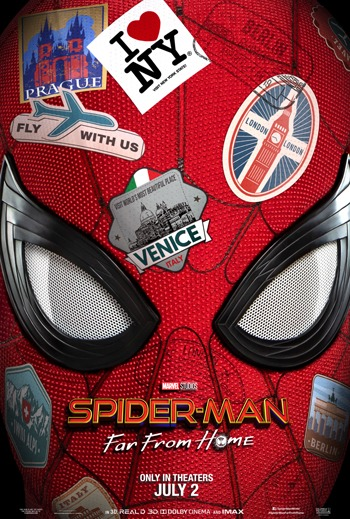 Spiderman Far From Hiome
