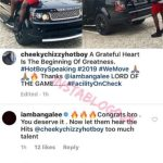 D'banj Give Cheeky Chizzy A brand New Range Rover