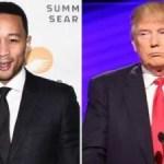 U.S President Donald Trump Is A Complete Moron – John Legend Says