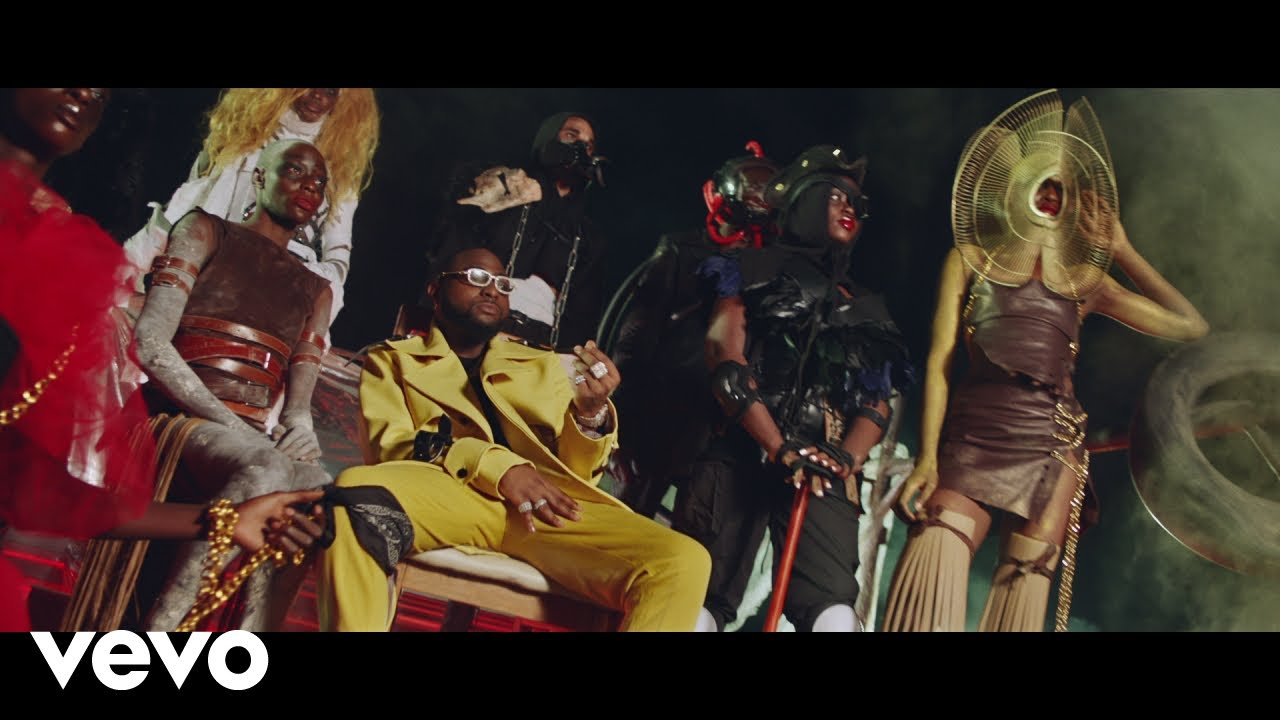 Mp4 Download VIDEO: Davido Ft. Wurld, Naira Marley, Zlatan - Sweet in the Middle