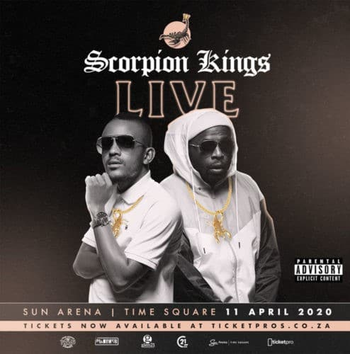 ALBUM: Kabza De Small x DJ Maphorisa - Scorpion Kings Live at Sun Arena 11 April Mp3 Zip Fast Download Free Audio Complete