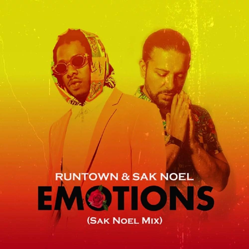 Runtown Ft. Sak Noel - Emotions (Mix) Mp3 Audio Download
