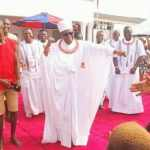 """The Moment Oba of Benin was Seen Dancing """"Shaku Shaku"""" At A Children's Party In His Palace (Watch Video)"""