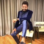 Nigerian Comedian, Basketmouth Shares Adorable Family Photo With His Wife And Daughter