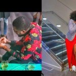 Nigerian singer, Kelly Hansome Proposes To His Long Time Girlfriend (See Photos)