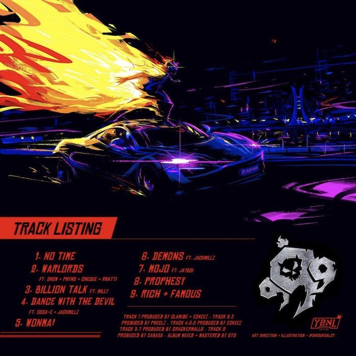 Olamide - 999 EP (Full Album) Mp3 Zip Fast Download Free Audio Complete